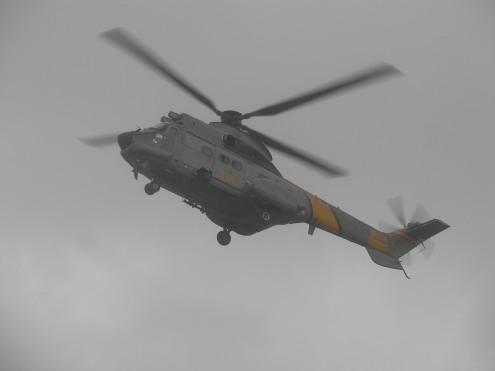 Helicóptero del SAR. Foto: JL de Castellví.